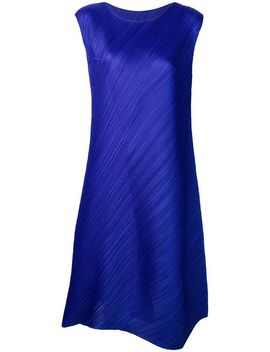 Oversized Sleeveless Dress by Pleats Please By Issey Miyake