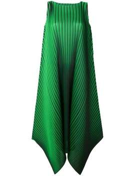Sleeveless Pleated Dress by Pleats Please By Issey Miyake