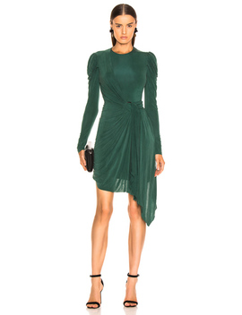 Sueded Jersey Wrap Dress by Jonathan Simkhai