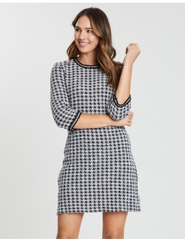 Houndstooth Shift Dress by Dorothy Perkins