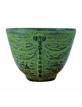 Happy Sales Hsct Dlg01, Cast Iron Teacup Dragonfly Med Green by Happy Sales