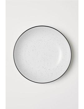 Глубокая керамическая тарелка by H&M