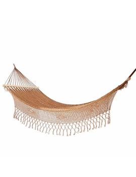 Novica Nylon Metallic Rope Hammock 'maya Bronze' (Single) by Novica