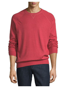 Athletic Crewneck Sweater by Brunello Cucinelli