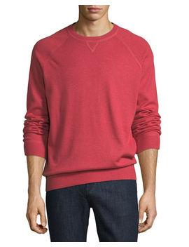 Athletic Crewneck Sweater by Brunello Cucinelli