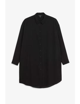 Long Oversized Blouse by Monki