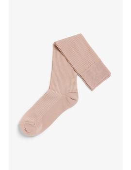 Silky Knee Socks by Monki