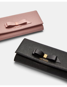 Leather Matinee Purse With Card Holder by Ted Baker