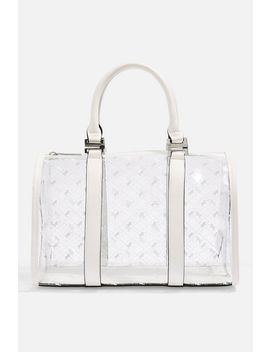 Madrid Medium Pu Bowler Bag by Topshop