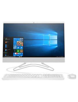 "Hp 24 F0019na All In One Desktop Pc, Intel Pentium Silver, 8 Gb Ram, 2 Tb Hdd, 23.8"" Full Hd, Snow White by Hp"