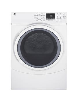 7.5 Cu. Ft. Capacity Front Load Gas Dryer With Steam In White by Ge