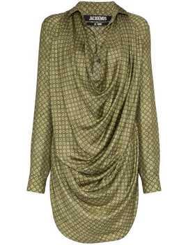 Cowl Neck Shirt Dress by Jacquemus
