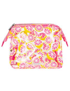 Glitter Grapefruit Wash Bag by Skinnydip