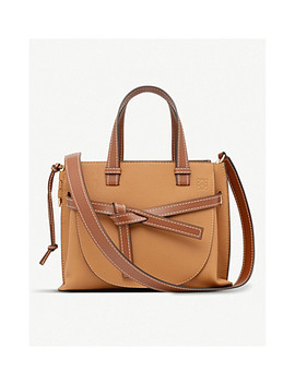 Gate Top Handle Small Leather Tote Bag by Loewe