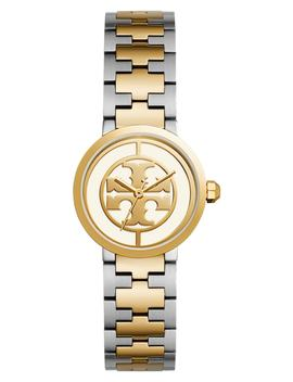 Reva Logo Dial Bracelet Watch, 28mm by Tory Burch