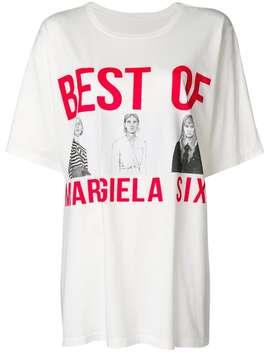 プリントtシャツ by Mm6 Maison Margiela