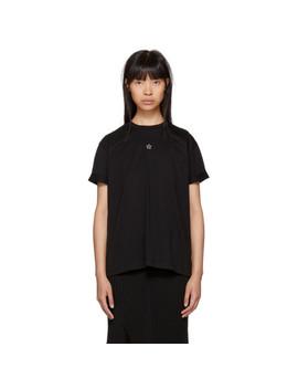 Black Mini Star T Shirt by Stella Mccartney