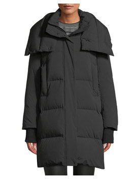 Long Oversized Down Fill Parka by Derek Lam 10 Crosby