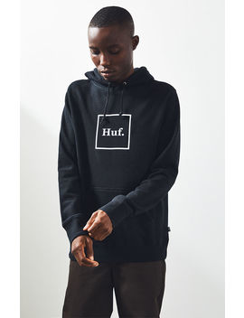 Huf Box Logo Pullover Hoodie by Pacsun