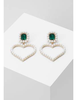 Hearts Statement With Beads Ear   Oorbellen by Topshop