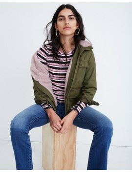 Sherpa Trimmed Surplus Jacket by Madewell