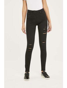 Slashed Powerstretch Skinny Jean by Long Tall Sally