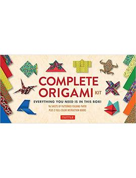 Complete Origami Kit: [Kit With 2 Origami How To Books, 98 Papers, 30 Projects] This Easy Origami For Beginners Kit Is Great For Both Kids And Adults by Tuttle Publishing