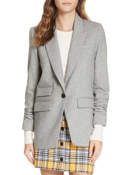 Martel Herringbone Dickey Jacket by Veronica Beard