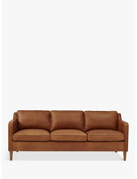 West Elm Hamilton 3 Seater Sofa, Sienna by West Elm