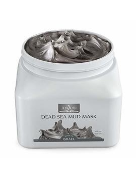 Anjou Dead Sea Mud Mask (17 Oz / 482 G, Made In Israel) For Facial And Body Treatment by Amazon