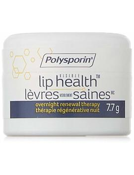 Polysporin Visible Lip Health Overnight Renewal Therapy, 7.7 G by Amazon