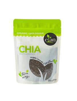 Elan Organic Chia Seeds 250 Gram by Amazon