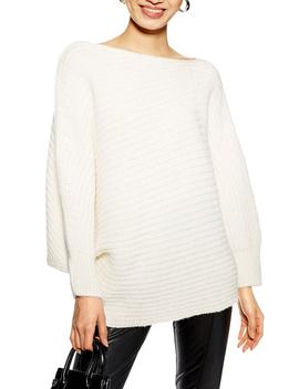 Drape Tunic Sweater by Topshop