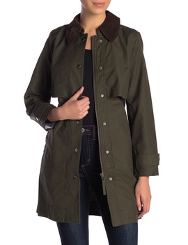 Field Trench Coat (Petite) by J. Crew