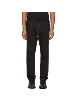 Black Slim Trousers by Dolce & Gabbana