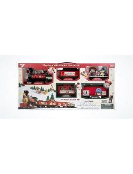 Disney Parks 2016 Christmas Train Set Mickey & Friends 30 Pc New With Box by Disney