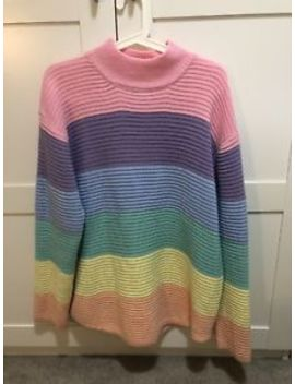 Unif Frost Rainbow Pastel Jumper Medium by Unif