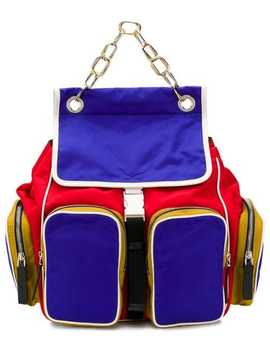 Multi Zipped Pocket Backpack by Marni