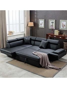 Corner Sofa,Sectional Sofa,Living Room Couch Sofa Bed,Modern Sofa Futon Contemporary Home Furniture by Fdw
