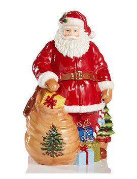 Figural Santa Cookie Jar by Spode