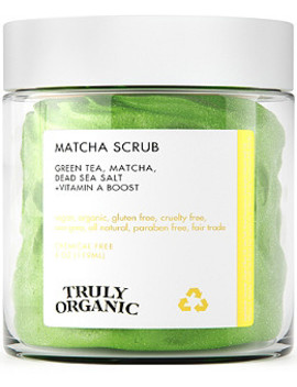Online Only Matcha Face Scrub by Truly Organic