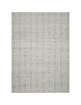 "Magnolia Home Ellison Light Gray 3'6""X5'6"" Rug by Magnolia Home By Joanna Gaines Collection"