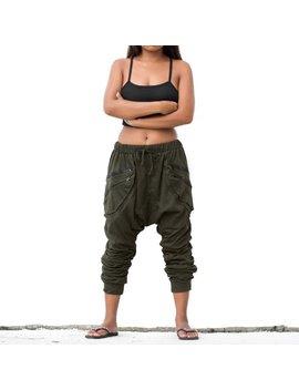 Drop Crotch Pants  Women Men Harem Pants  Goa Pants Gypsy Pants Hip Hop Pants by Etsy