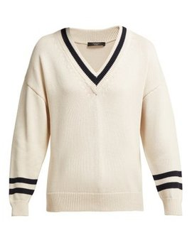 V Neck Cricket Sweater by Weekend Max Mara