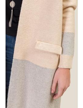 Henley Color Block Jacket by Francesca's