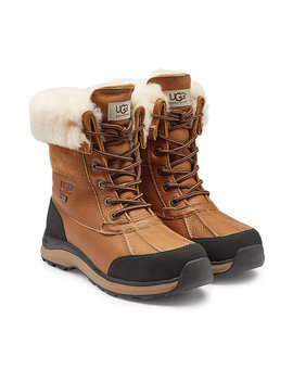 Adirondack Ankle Boots With Suede, Leather And Shearling by Ugg