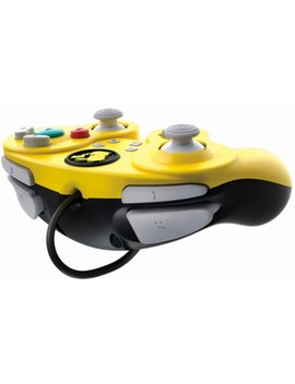 Wired Fight Pad Pro Pikachu Controller For Nintendo Switch   Yellow by Pdp