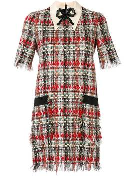 Embroidered Tweed Dress by Gucci