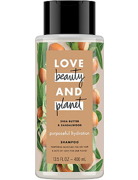 Shea Butter And Sandalwood Purposeful Hydration Shampoo by Love Beauty And Planet