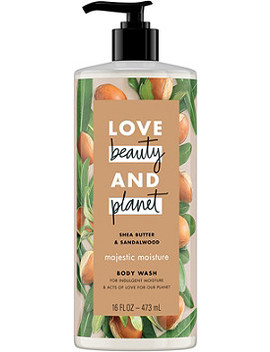 Shea Butter & Sandalwood Majestic Moisture Body Wash by Love Beauty And Planet